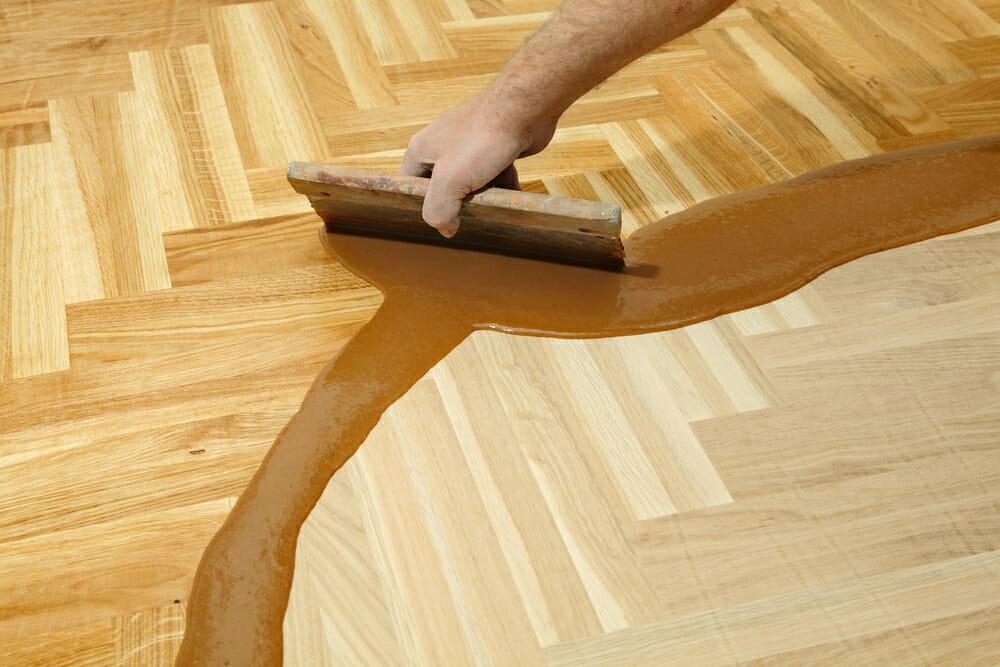 Pflege Parkettboden - Malerbetrieb Kossack