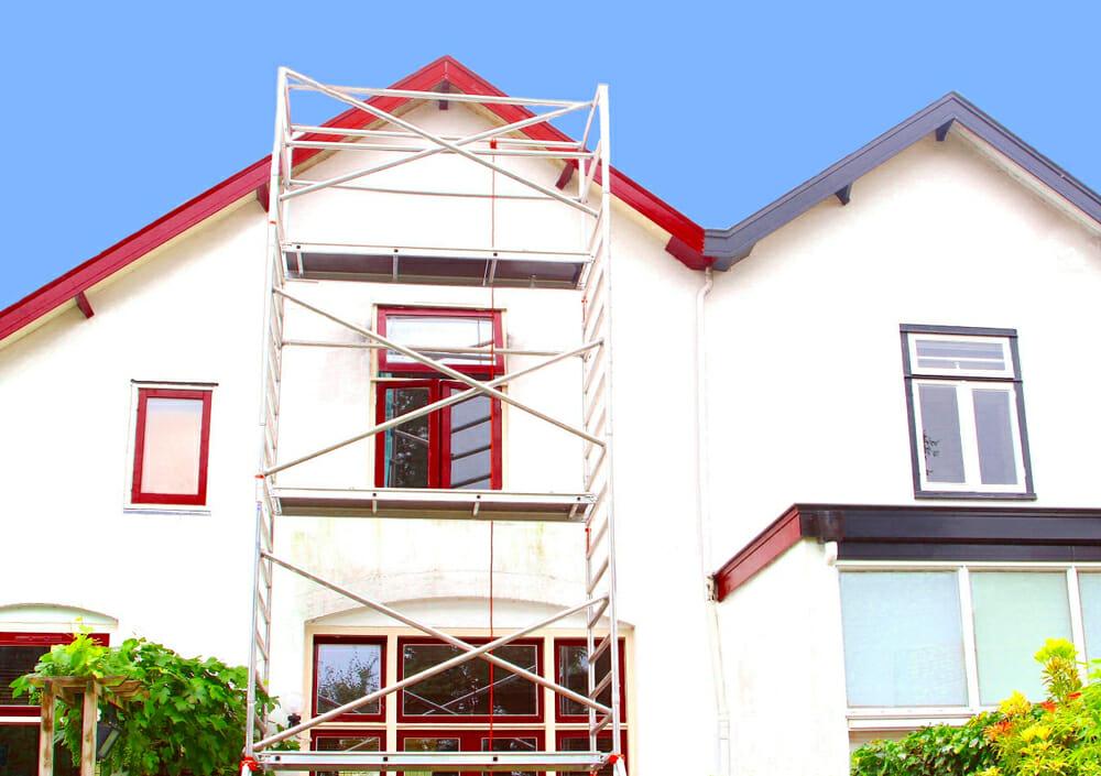 Die Fassade - der erste Eindruck des Hauses - Malerbetrieb Kossack