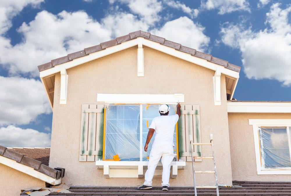 Fassadenanstrich – Machen Sie Ihre Fassade fit für den Frühling!
