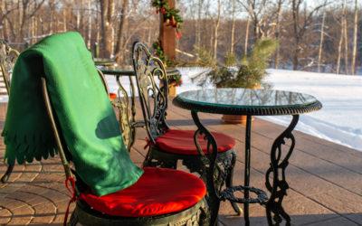 So wappnen Sie Ihre Terrasse für den Winter